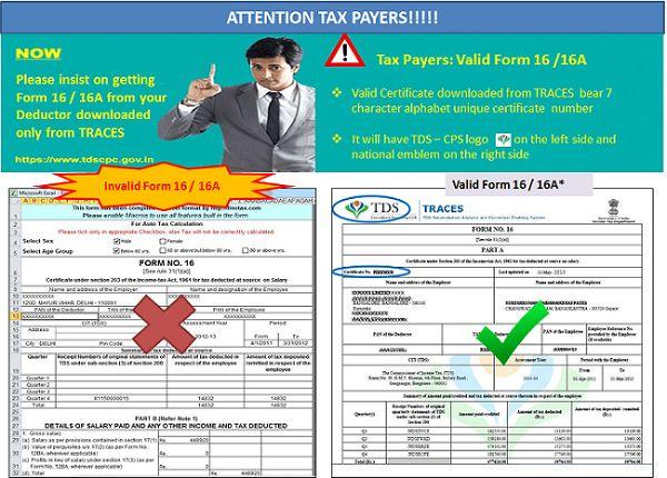 certificate 16 form