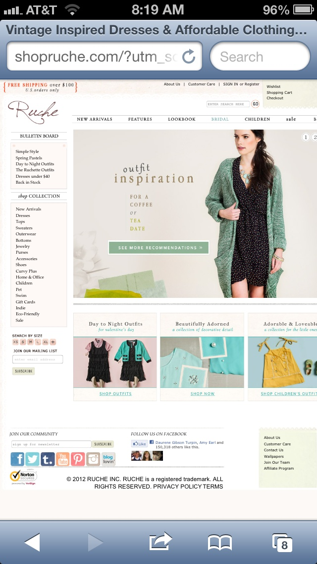Vintage Clothing Website 63