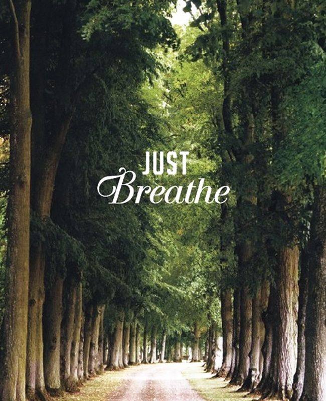 It's that time of the school year. No breaks until November, four tests in one week, club meetings every night and extra shifts at work. Warner College's advice: Just Breathe. And spend some quality time enjoying the outdoors.