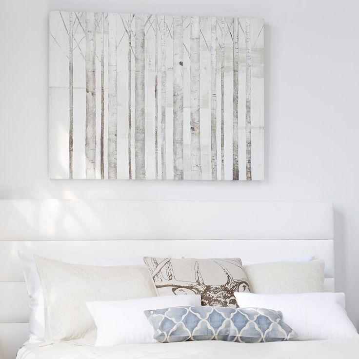 tableau bouleaux tableaux d cor mural id es d co pinterest toiles et bouleaux. Black Bedroom Furniture Sets. Home Design Ideas