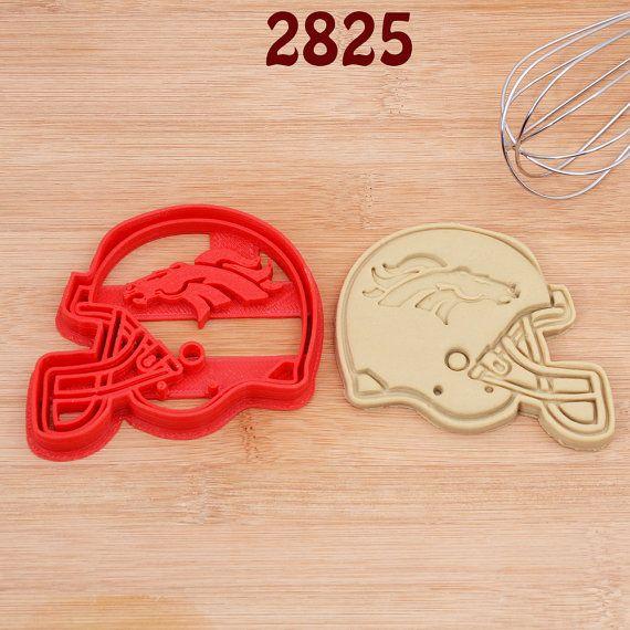 Denver Broncos Cookie Cutter denver broncos by kaykayline on Etsy