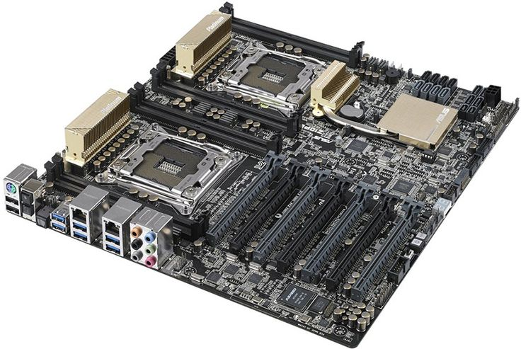 Asus Unveils Z10PE-D8 WS Workstation Board with Dual CPU Sockets - The dual sockets support Intel's recently announced Xeon E5-2600 v3 processor family based on the company's Haswell architecture.   MaximumPC