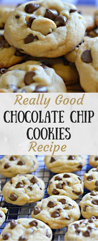 Are these chocolate chip cookies the best? I don't know about that, but I do…