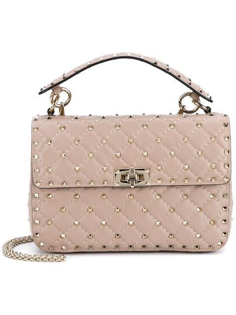 VALENTINO 'Rockstud Spike' crossbody bag. #valentino #bags #shoulder bags #hand bags #leather #crossbody #