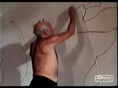Thrilling, rare footage of Picasso drawing. Fluid genius.
