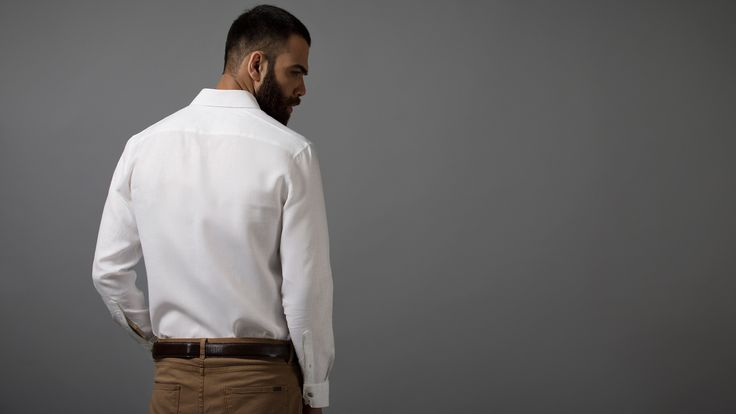 Buy Linen Camel Art luxury shirts for men online at Andamen at the best price. Andamen is the leading online portal for premium branded shirts for men in India. Free shipping and 60 days free returns