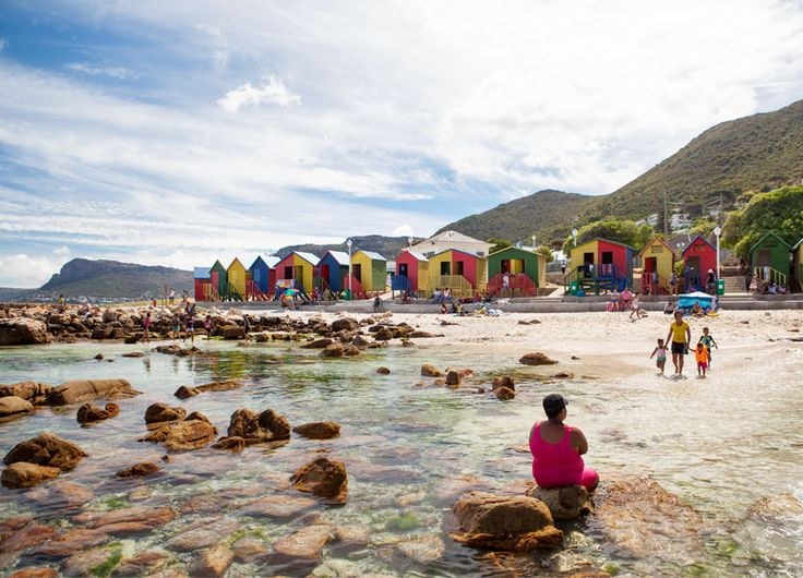 St James & Kalk Bay - playtime at the pool. #Africa #SouthAfrica #CapeTown