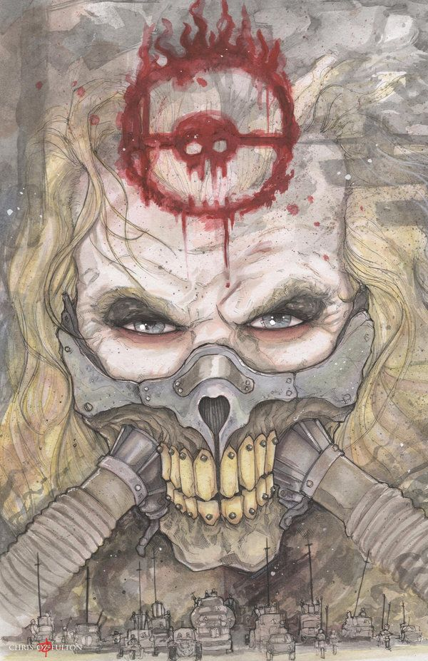Immortan Joe Mad Max Fury Road by ChrisOzFulton.deviantart.com on @DeviantArt