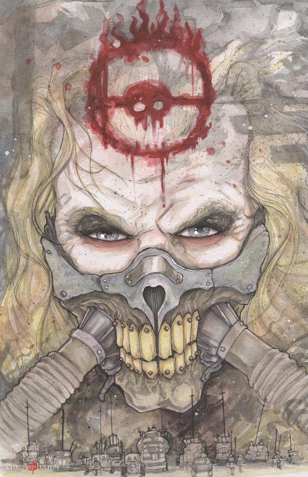 Immortan Joe Mad Max Fury Road by ChrisOzFulton.deviantart.com on @DeviantArt