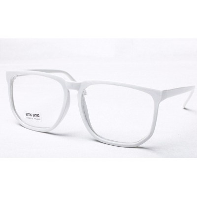 $7 Lunette Geek Blanche