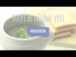 Soupe de légume vert