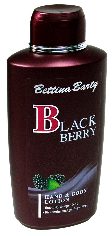 Kem dưỡng thể Bettina Barty Straub Black Berry Body Lotion 500ml. Được thiết kế riêng cho việc chăm sóc da hàng ngày của bạn. tăng cường độ ẩm và giữ cho bạn 1 làn da mềm mịn, dẻo dai. Với công dụng dưỡng ẩm tuyệt vời, có thể làm mềm vùng da môi khô nứt nẻ một cách nhanh chóng, Chiết xuất: dâu đen. Dung tích: 500ml.