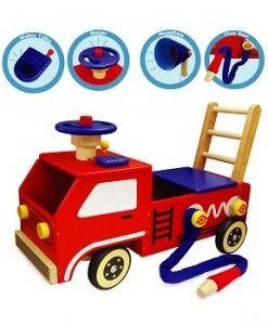 Kids Ride Ons Firetruck $145.00 #sweetcreations #kids #babies #toys #play #rideon #rocking