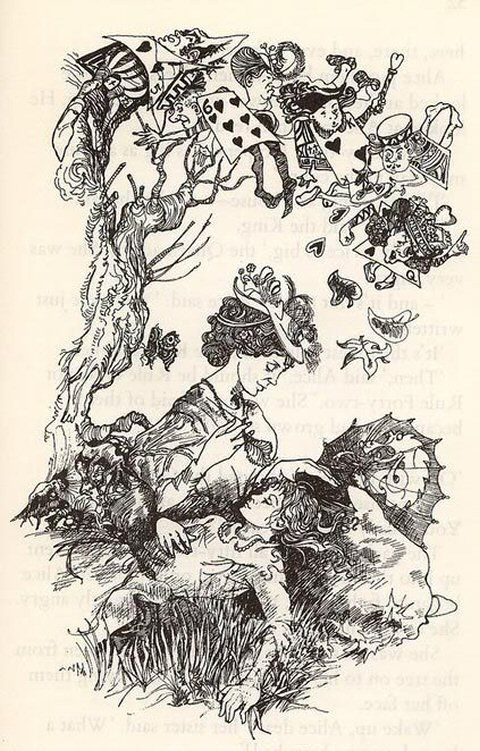 Love this one! Carol Tarrant - Alice's Adventure's in Wonderland
