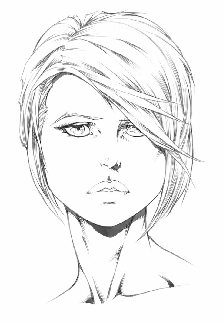 How to Draw Comics   How to Draw Head Portraits 1