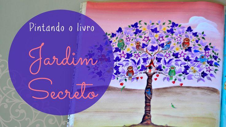 flor azul jardim secreto : flor azul jardim secreto: jardim secreto by fernanda banderó 1 livro jardim secreto episódio 1