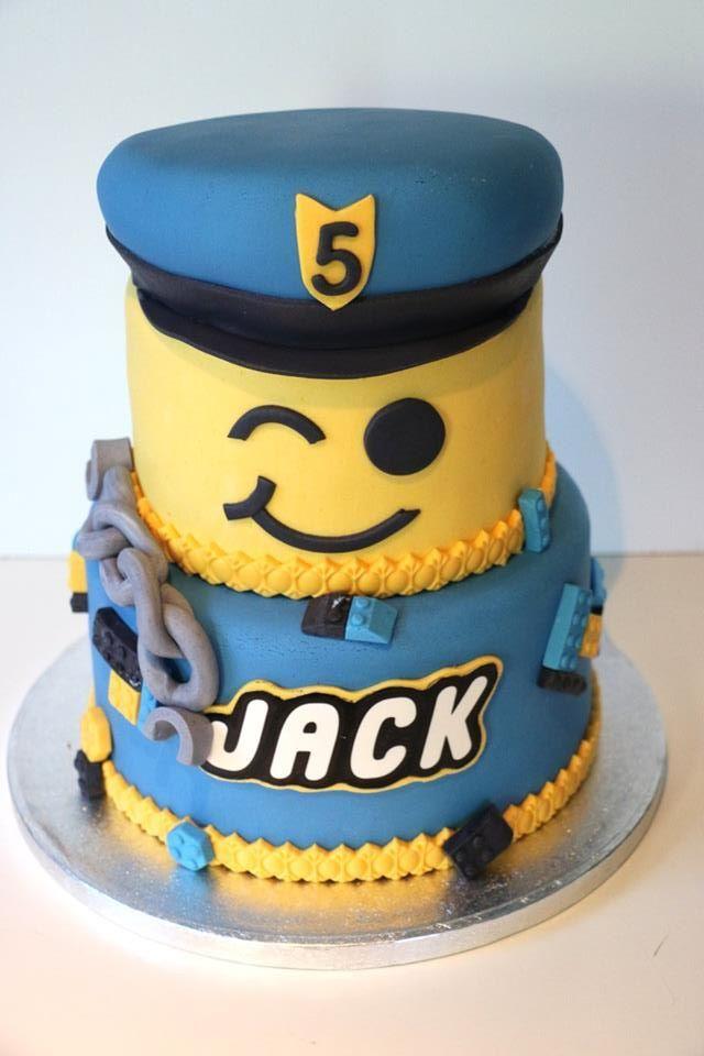 Lego City Police Cake Nainoa S Birthday In 2019