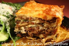 Michael Symon  is a good Cleveland boy who loves his mom. And his mom's lasagna. It's not hard to figure out why; it is hearty, meaty, and f...