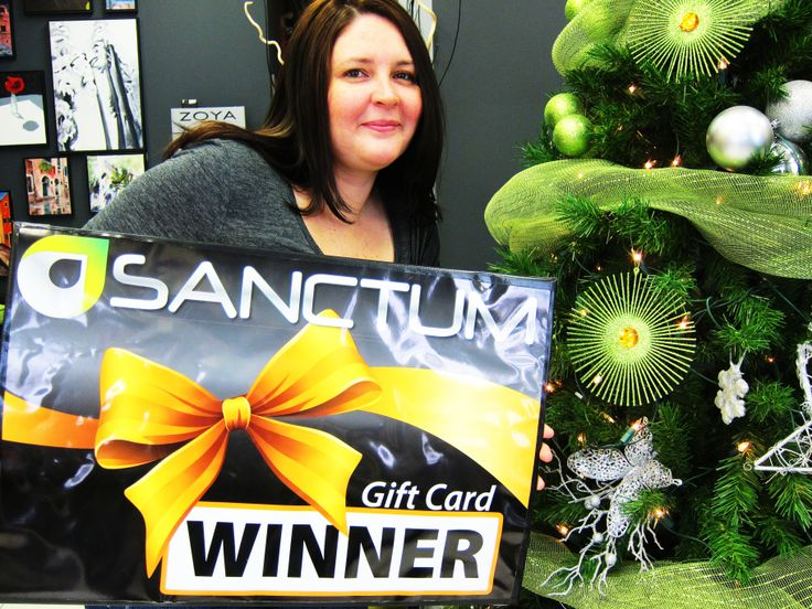 Congratulations to Jeniffer Frandsen - the winner of #StyleON contest. Thank you for having a complementary Wash & Style with our talented team at Sanctum Salon & Spa! LIKE our page and keep an eye for upcoming contests!