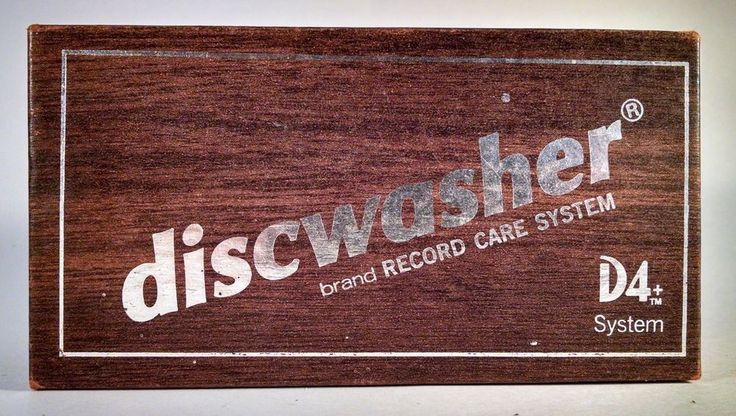 Vintage Discwasher D4 W/ Instructions and Cleaning Fluid Record LP Vinyl Retro  #Discwasher