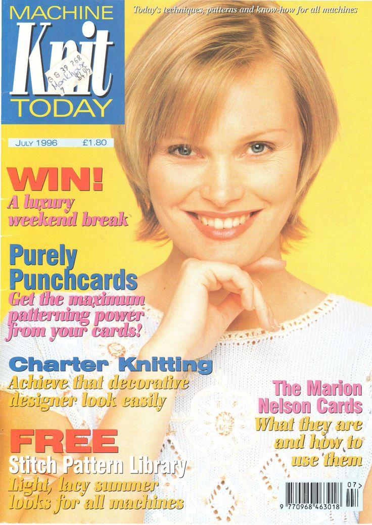 Knitting Magazines Free Patterns : 17 best images about Machine Knitting News Magazine on ...