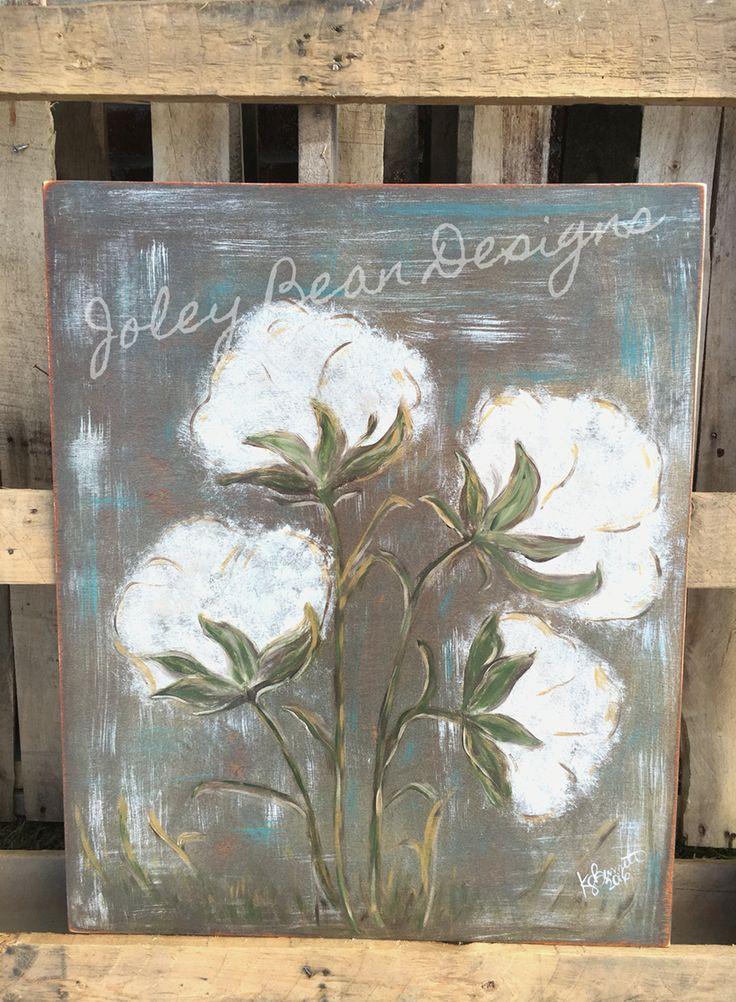 Joley Bean Designs, cotton, Louisiana art