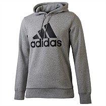 adidas Mens Essentials Logo Pullover Hoody