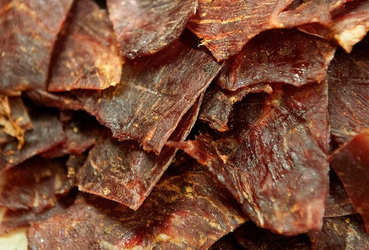A sorta spicy version of basic beef jerky that's jazzed up with Sriracha sauce. Camping has never been so enticing.