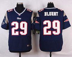 Nike New England Patriots #29 LeGarrette Blount Blue Jersey