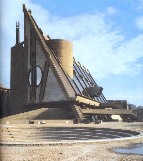 Leonardo Ricci. Palazzo di Giustizia di Savona (1987)