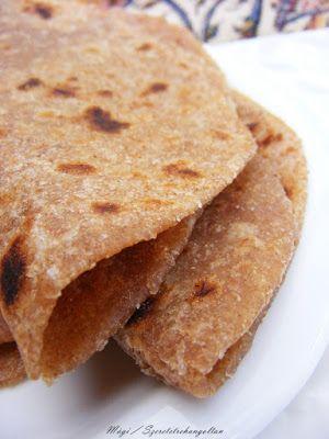 szeretetrehangoltan: Chapati, indiai lepénykenyér házilag