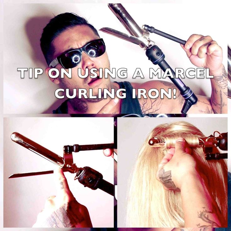 How to use a Marcel curling iron...where has this been all my life?!