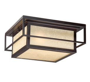 South Shore Decorating: Vaxcel Lighting RB-OFU120EB Robie Transitional Outdoor Flush Mount Ceiling Light VX-RB-OFU120EB
