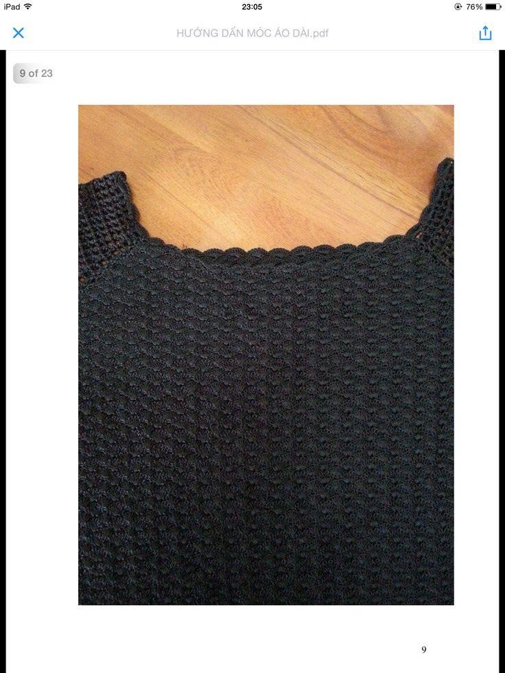 Hướng dẫn móc áo dài (tr9)