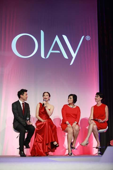 Olay Regenerist Celebrity Ambassador, Nat Myria, sharing her thoughts towards new generation Olay Regenerist