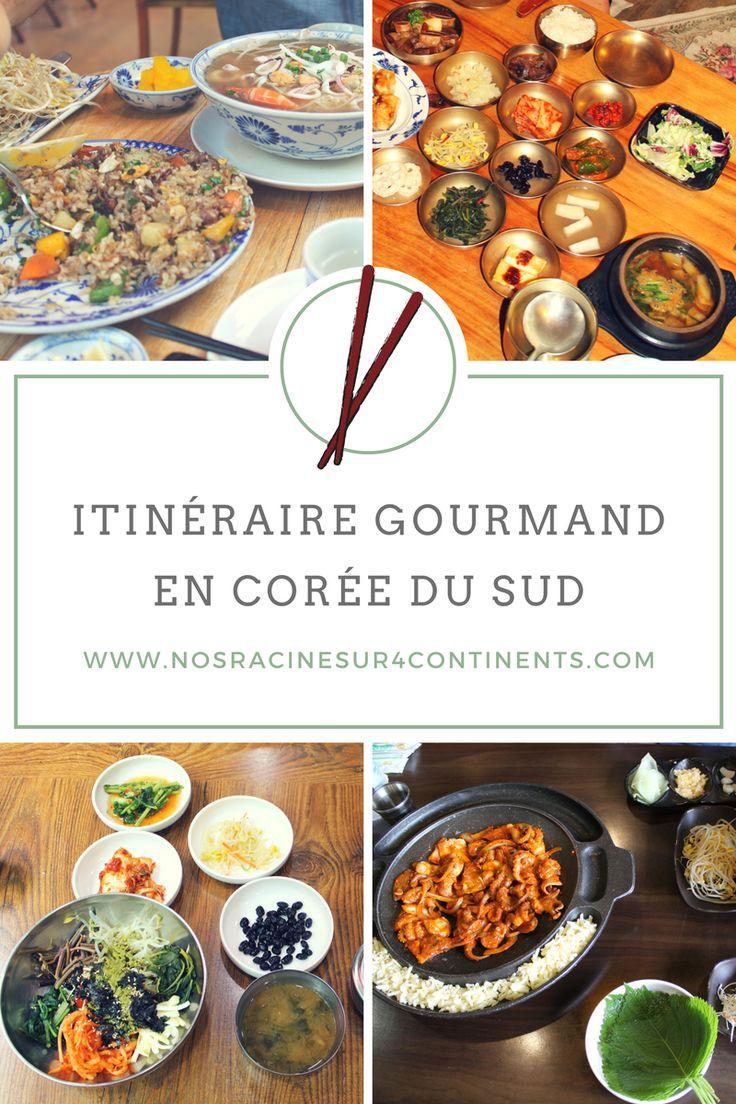 Itinéraire gourmand en famille en #Corée du Sud : quoi manger? Où aller?