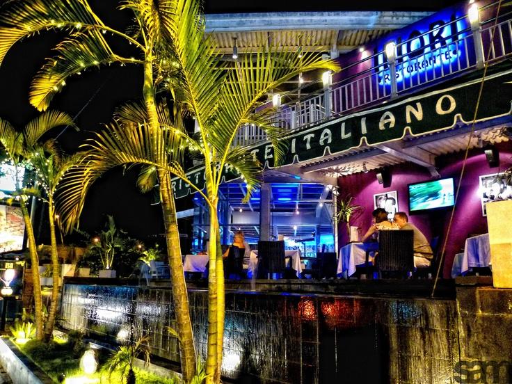 Romantic dinner at Ifiori, Kuta, Bali