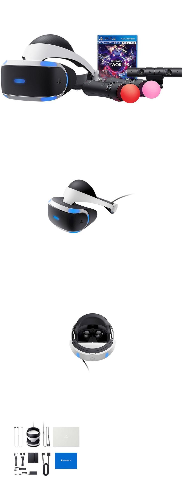 PC and Console VR Headsets: New Playstation 4 Vr Worlds Bundle Virtual Reality Headset For Ps4 Sealed In Box -> BUY IT NOW ONLY: $559.99 on eBay!