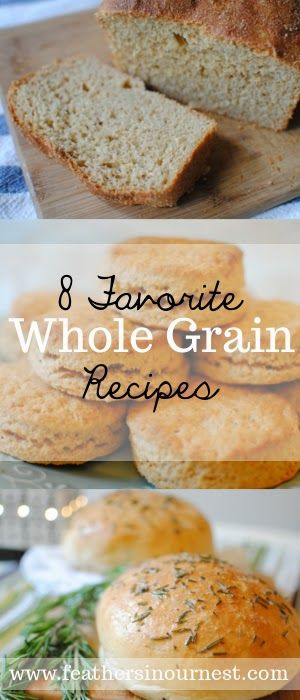 The Best Go-to Whole Grain Bread Recipes! | Feathers in Our Nest