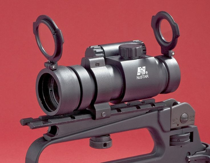 NCSTAR 1X30MM RED DOT SIGHT .223 5.56 TACTICAL SCOPE AIRWEIGHT AIMPOINT CLONE #NcSTAR