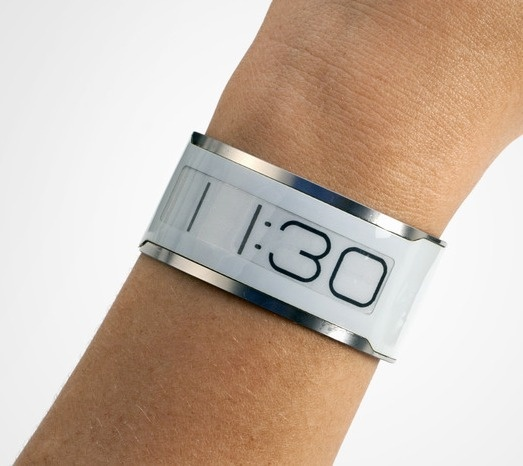 Central Standard Timing 'e-ink' watch   eventually incorporates things like fall detection or pulse monitoring.