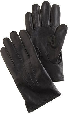 $98, J.Crew Cashmere Lined Leather Smartphone Gloves. Sold by J.Crew. Click for more info: https://lookastic.com/men/shop_items/2414/redirect
