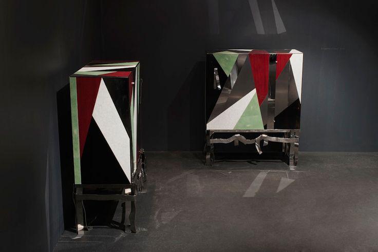 'cabinet arlequin', 2013 by fendi