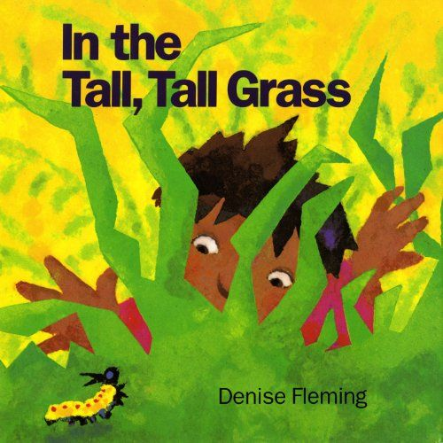 In the Tall, Tall Grass by Denise Fleming,http://www.amazon.com/dp/080501635X/ref=cm_sw_r_pi_dp_vSExsb11Q90FGEBY