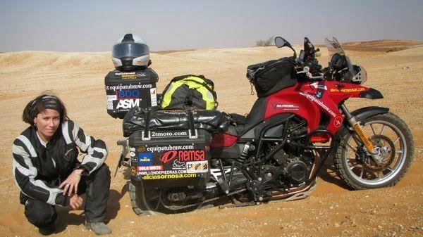 Mujeres en motocicleta: de las pioneras hasta nuestros días | Biker Garaje