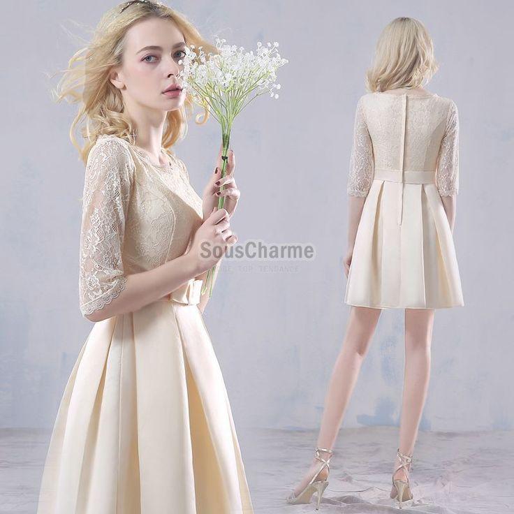 Oltre 1000 idee su robe chic pas cher su pinterest gonna for Robes de demoiselle d honneur mariage rustique chic