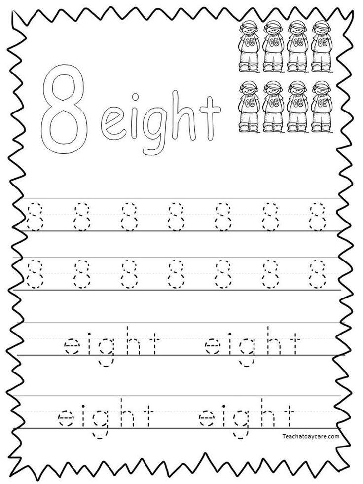 20 Printable Numbers 120 Tracing Worksheets. Etsy in