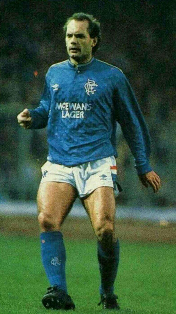 Ray Wilkins of Rangers in 1987.