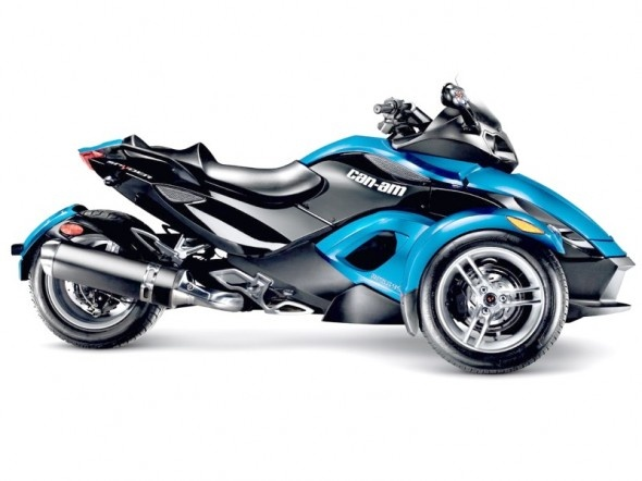 I want one of these soo bad three wheel jawn 2012 Can-Am Spyder RS Roadster