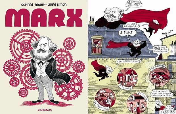 Carlos Marx explicado en tres cómics... incluido un manga